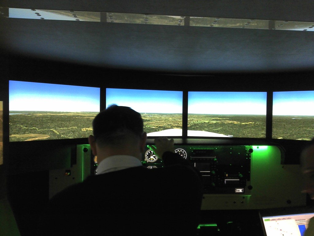 Top Flight School Lancaster PA Red Bird Flight Simulator